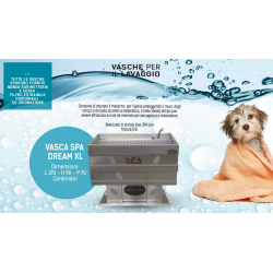 VASCA SPA DREAM QUADRATA XL