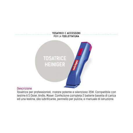 TOSATRICE HEINIGER COMPLETA