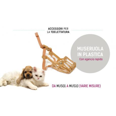 MUSERUOLA IN PLASTICA (varie misure)