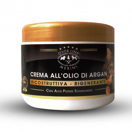 Reconstructive cream based on argan oil