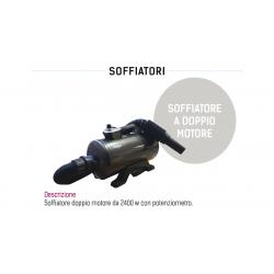 SOFFIATORE DOPPIO MOTORE 2450 W